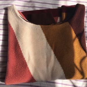 50/50 Merino Wool Cotton Blend Sweater